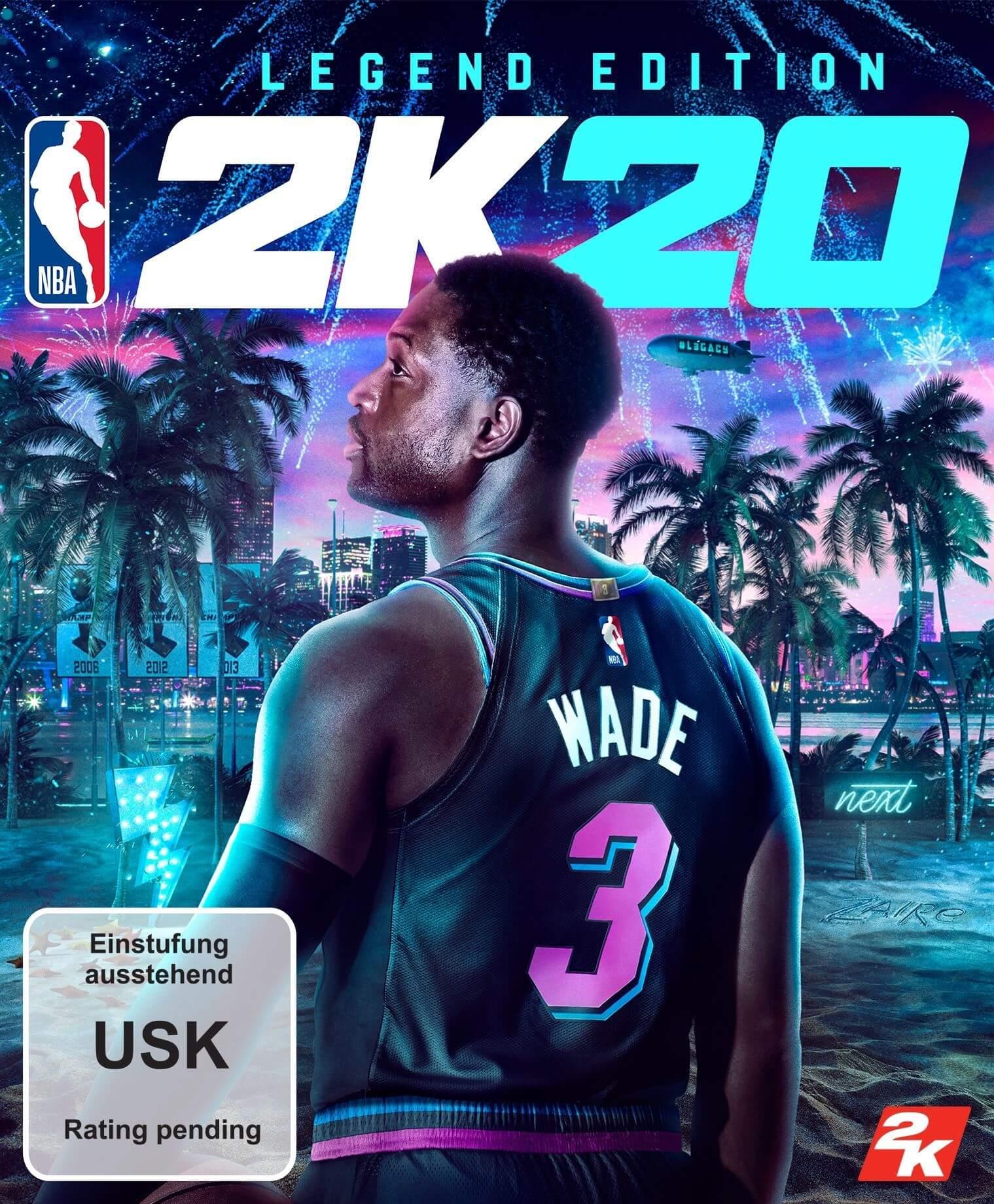 NBA 2K20 Legend Edition - Pre Order (ROW)