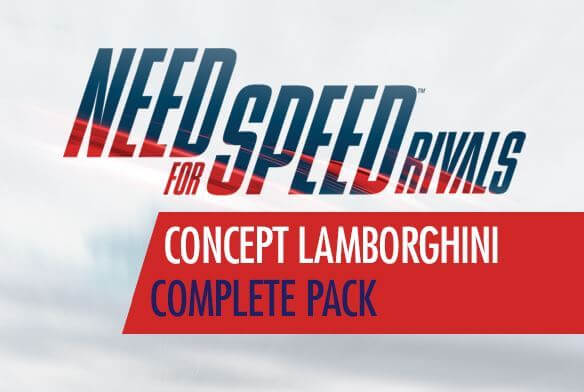 Need For Speed Rivals Concept Lamborghini Complete Pack