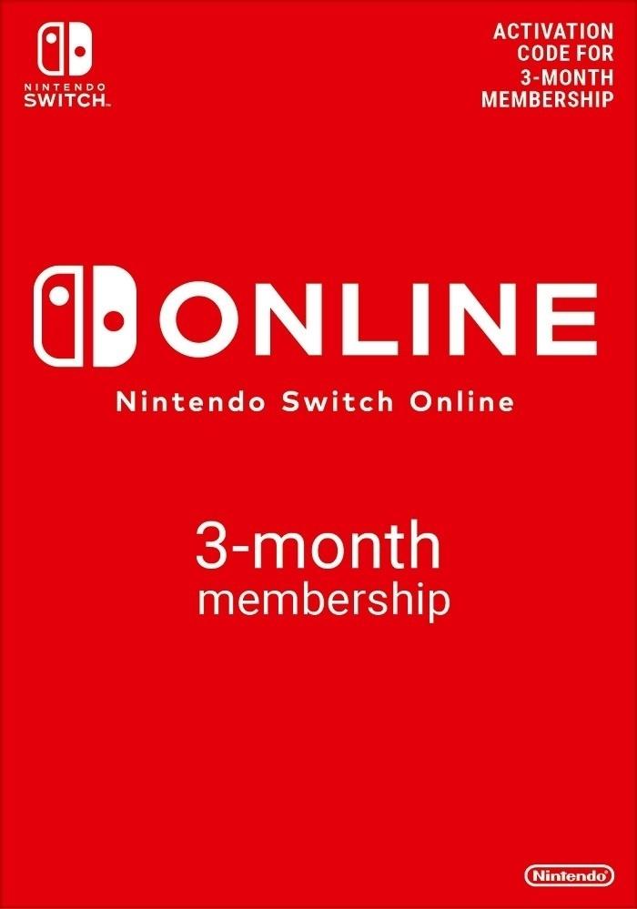 Nintendo Switch Online (Individual Membership - 3 months). ürün görseli