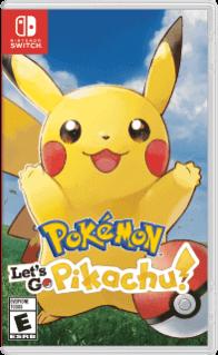Pokémon: Let's Go Pikachu!. ürün görseli