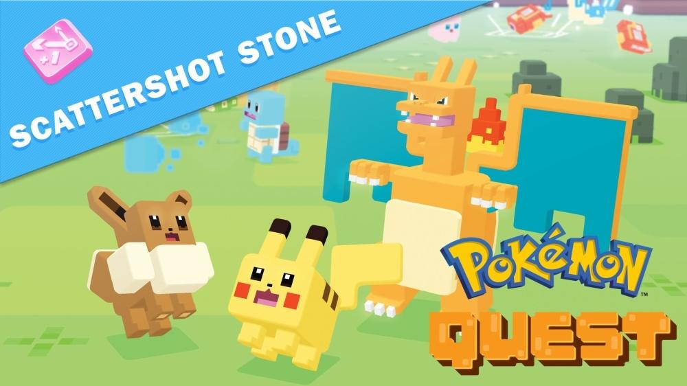 Pokémon™ Quest: Scattershot Stone