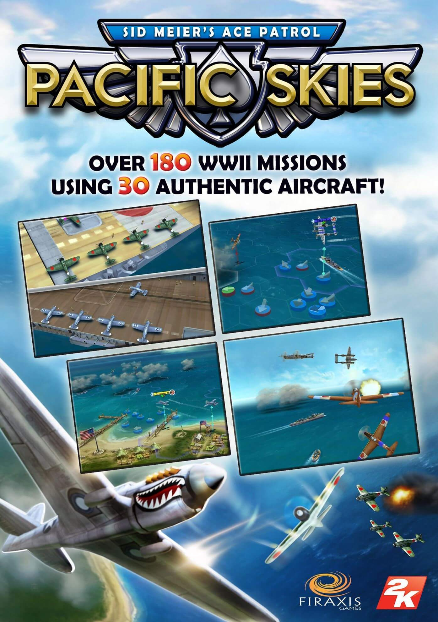 Sid Meier's Ace Patrol : Pacific Skies (ROW)