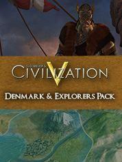 Sid Meiers Civilisation V : Denmark and Explorers Combo Pack. ürün görseli