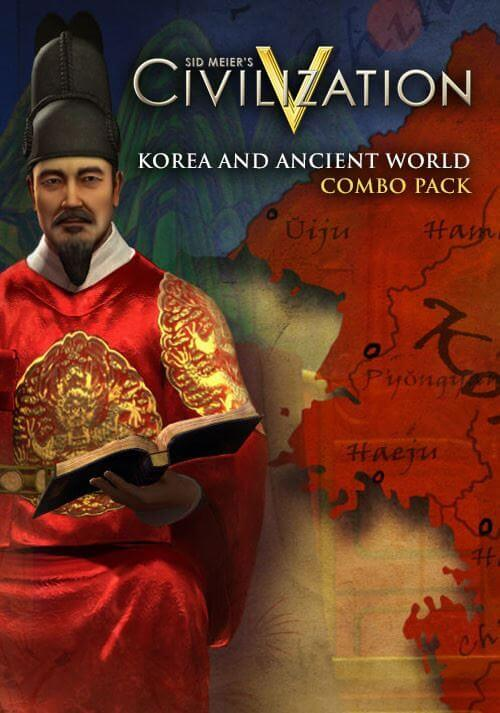 Sid Meier's Civilization V : Korea and Ancient World Combo Pack. ürün görseli
