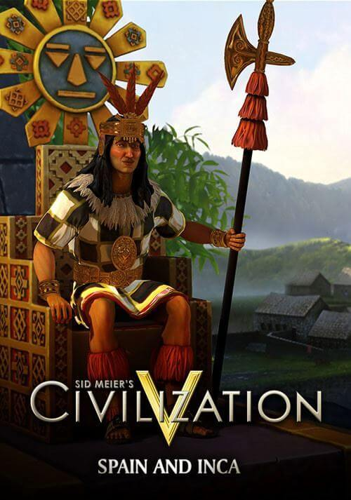Bild von Sid Meier's Civlization V : Double Civilization and Scenario Pack - Spain and Inca