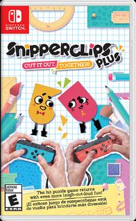Snipperclips: Cut it out - together. ürün görseli