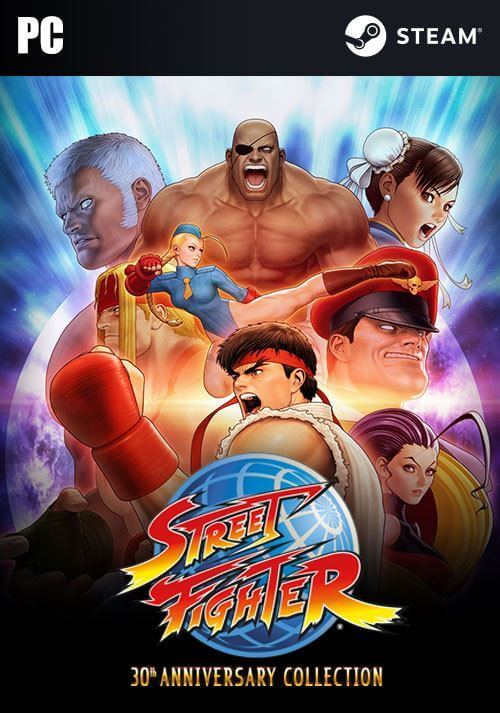 Street Fighter: 30th Anniversary Collection. ürün görseli