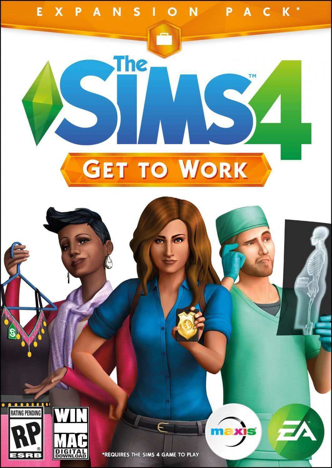 The Sims™ 4 Get To Work