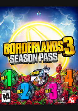 Borderlands 3 Season Pass (Steam) | ROW (ad540fdc-914c-4269-9ad6-c25b9cc1906d)