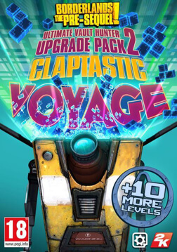 Resim Borderlands : The Pre-Sequel - Claptastic Voyage and Ultimate Vault Hunter Upgrade Pack 2