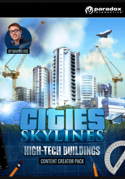 Cities: Skylines - Content Creator Pack: High-Tech Buildings (ROW)