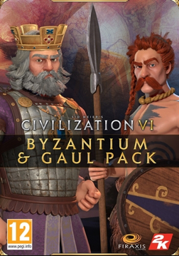Civilization VI - Byzantium & Gaul Pack (Epic)