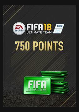 FIFA 18 Ultimate Team FIFA Points 750