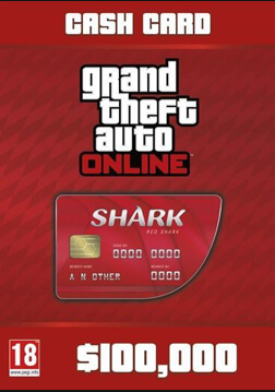 Afbeelding van Grand Theft Auto Online : Red Shark Cash Card