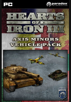 Hearts of Iron III: Axis Minor Vehicle Pack
