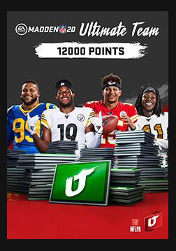 Madden NFL 20: 12000 Madden Ultimate Team Points