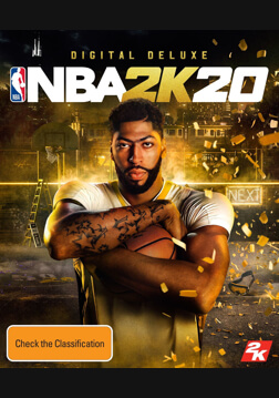 NBA 2K20 Digital Deluxe - Pre Order (ROW)