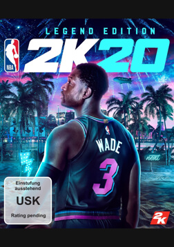 NBA 2K20 Legend Edition - Pre Order (ROW)