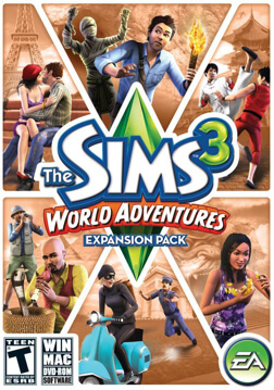 The Sims? 3: World Adventures