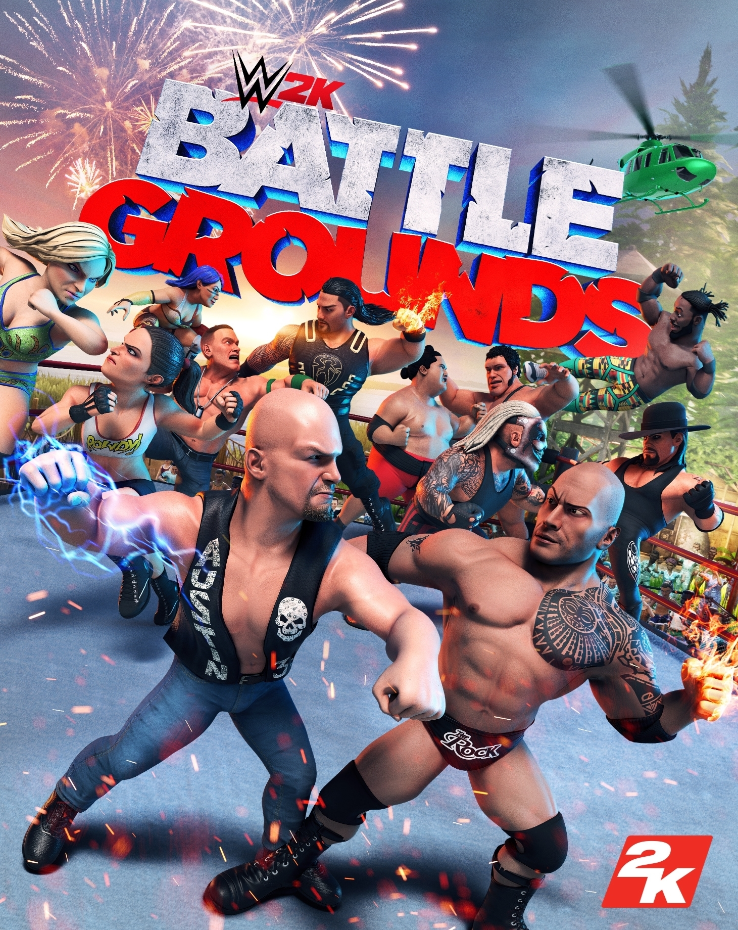 WWE 2K Battlegrounds - Pre Order | ROW (cae6335f-2e88-4fb3-ac4a-1fb681ccd121)