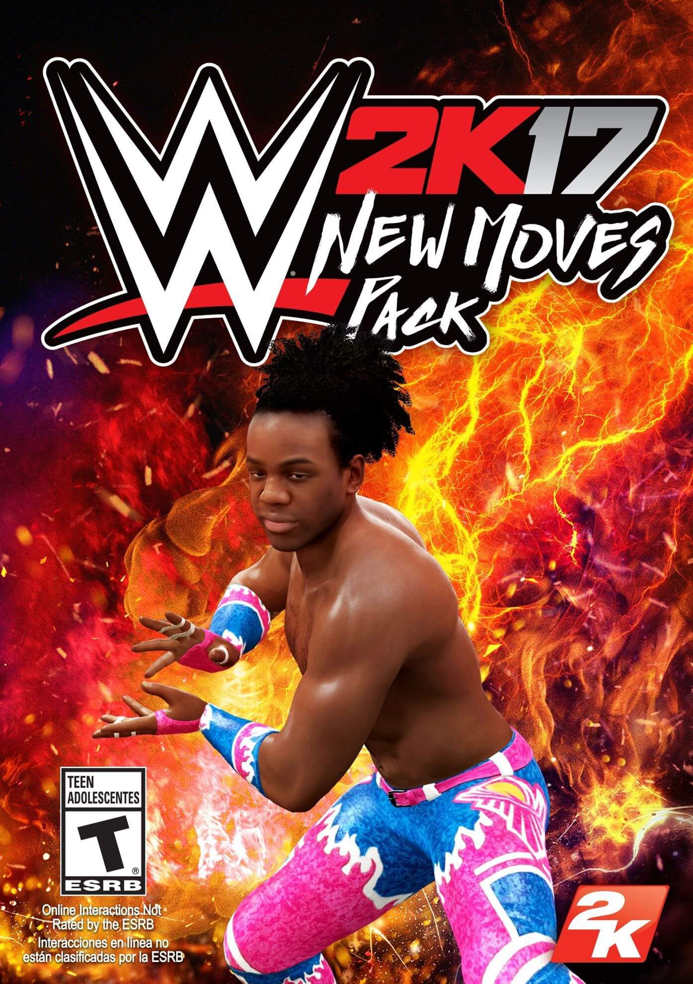 WWE 2K17 - New Moves Pack (WW)