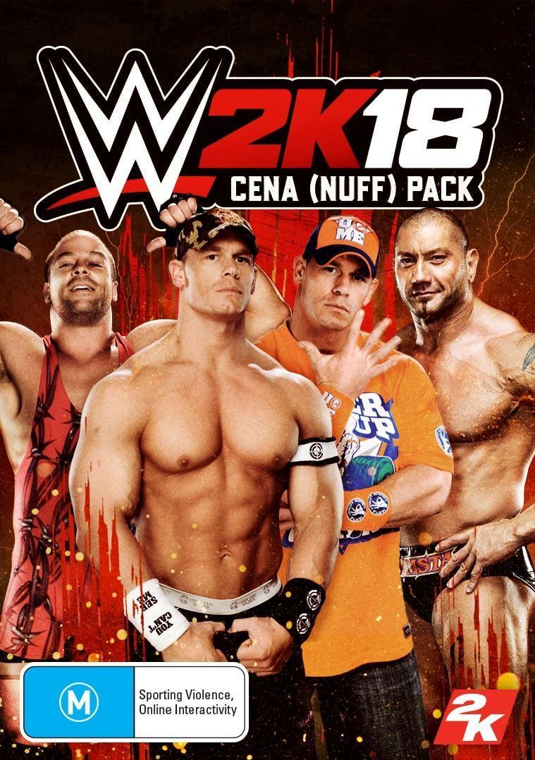 WWE 2K18 - Cena (Nuff) Pack (ROW)