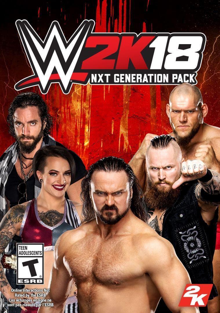 WWE 2K18 NXT Generation Pack (ROW)