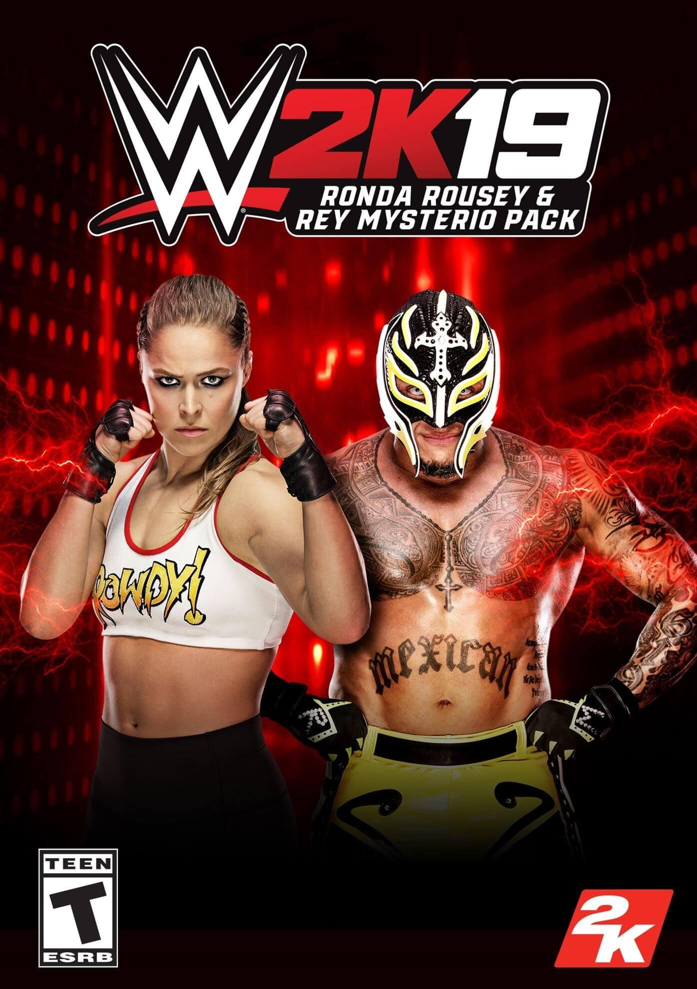 WWE 2K19 - Rey Mysterio & Ronda Rousey (ROW)