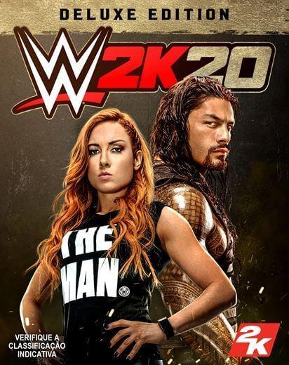 WWE 2K20 Deluxe Edition Pre-order. ürün görseli